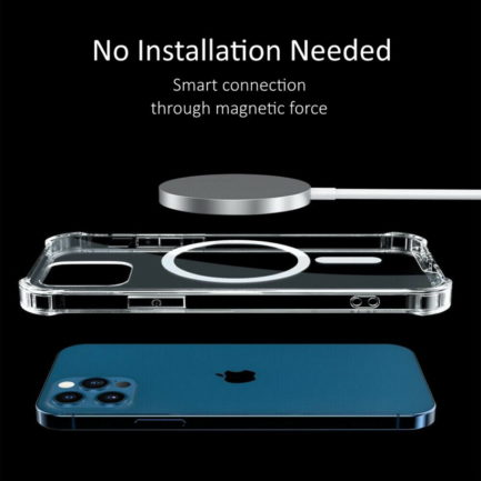iPhone 12 Magsafe clear Case